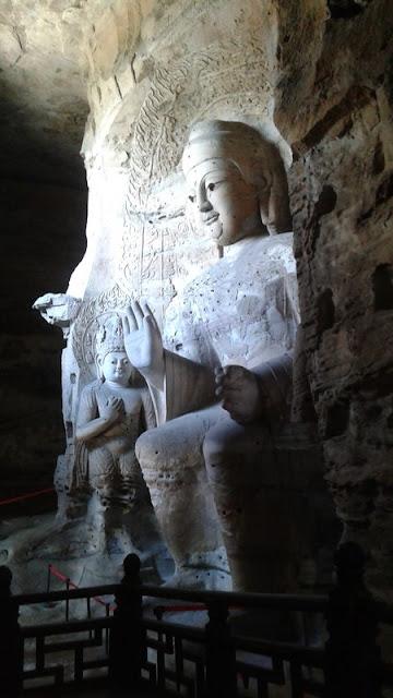 Interior de una cueva