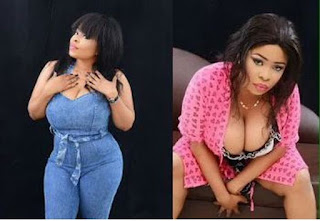Nollywood actress, Tonia Ferrari narrates how she stripped n'aked before male actors to prove her bum was real