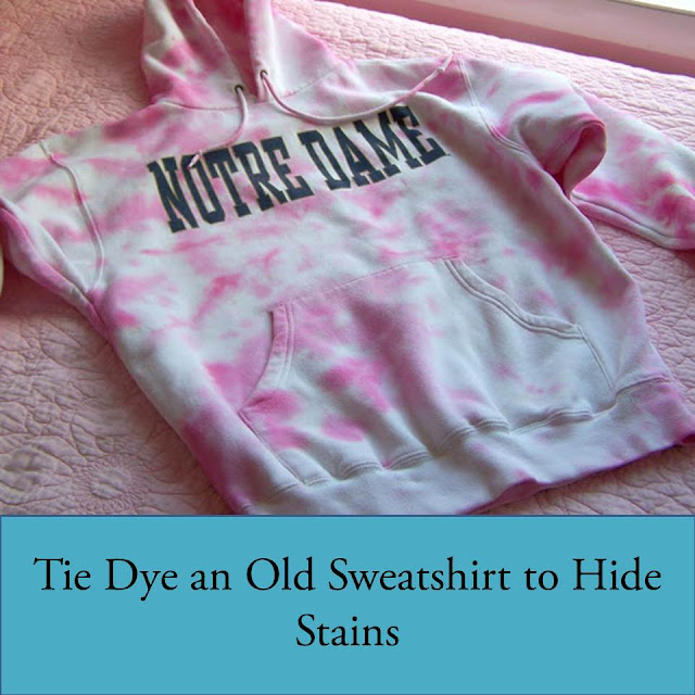 Practical Tip – Tie Dye Your Way Out of Stains