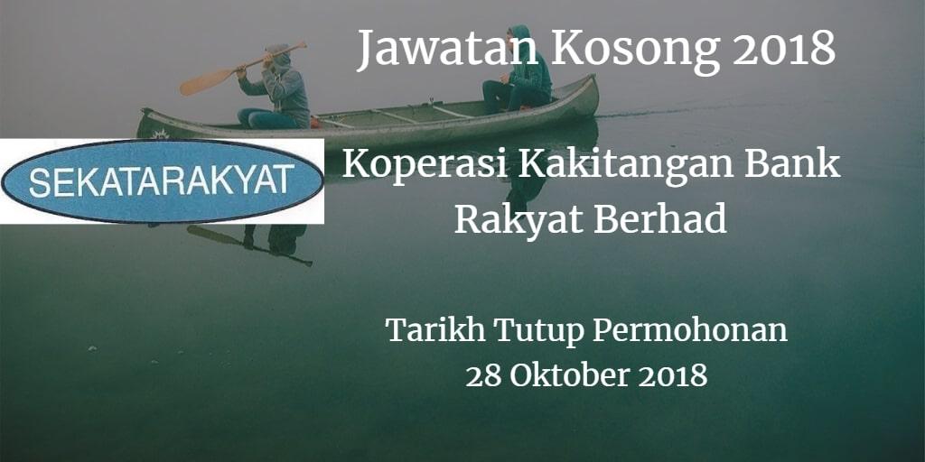 Jawatan Kosong SEKATARAKYAT 28 Oktober 2018