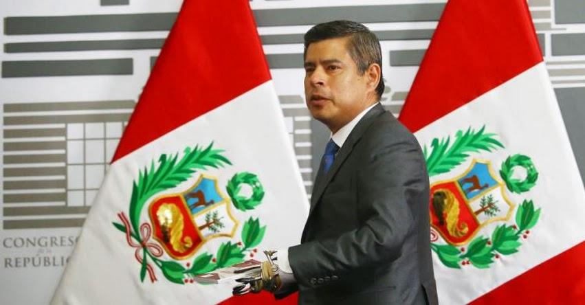 Congreso de la República debatirá moción de vacancia presidencial el jueves 22 de marzo