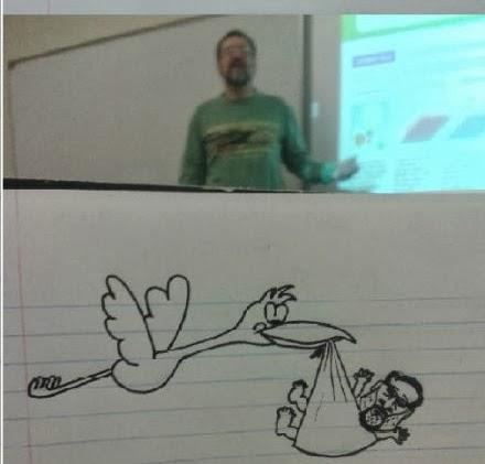 un-etudiant-dessine-son-prof-durant-les-cours-6 un étudiant dessine son professeur pendant les cours quand il s'ennuie