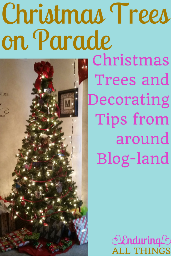 Christmas Trees and Decorating Tips from around Blog-land. Several bloggers have collaborated on this project. Come check out our beautiful trees and our tips for decorating them!