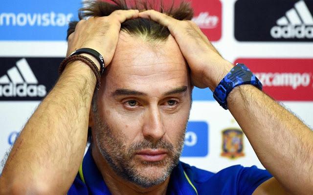 Spain sack manager Julen Lopetegui, appoints Fernando Hierro