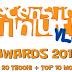 Recensioni Minute - Awards 2017 (Top20 TeOoh! + Top10 Moglie)