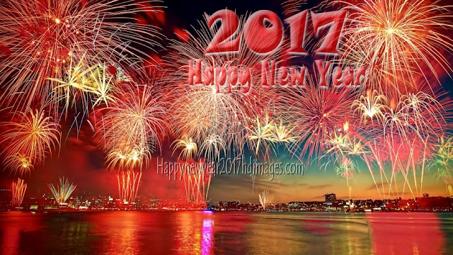 Happy New Year 2017 Full HD Fireworks Pictures Download