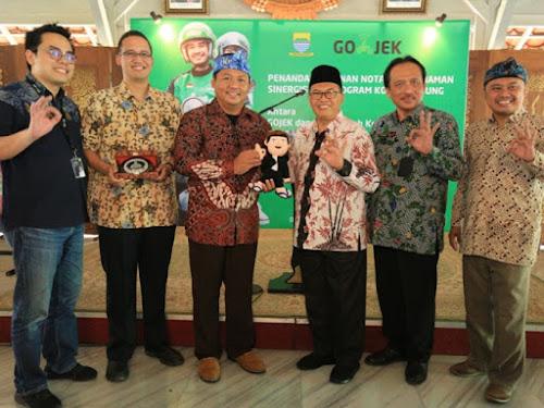 Kerjasama Gojek dan Pemkot Bandung