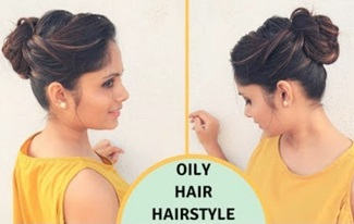 Quick & Easy Hairstyle For Oily Hair | Oily Hair Hairstyle for Holi | komal's hair