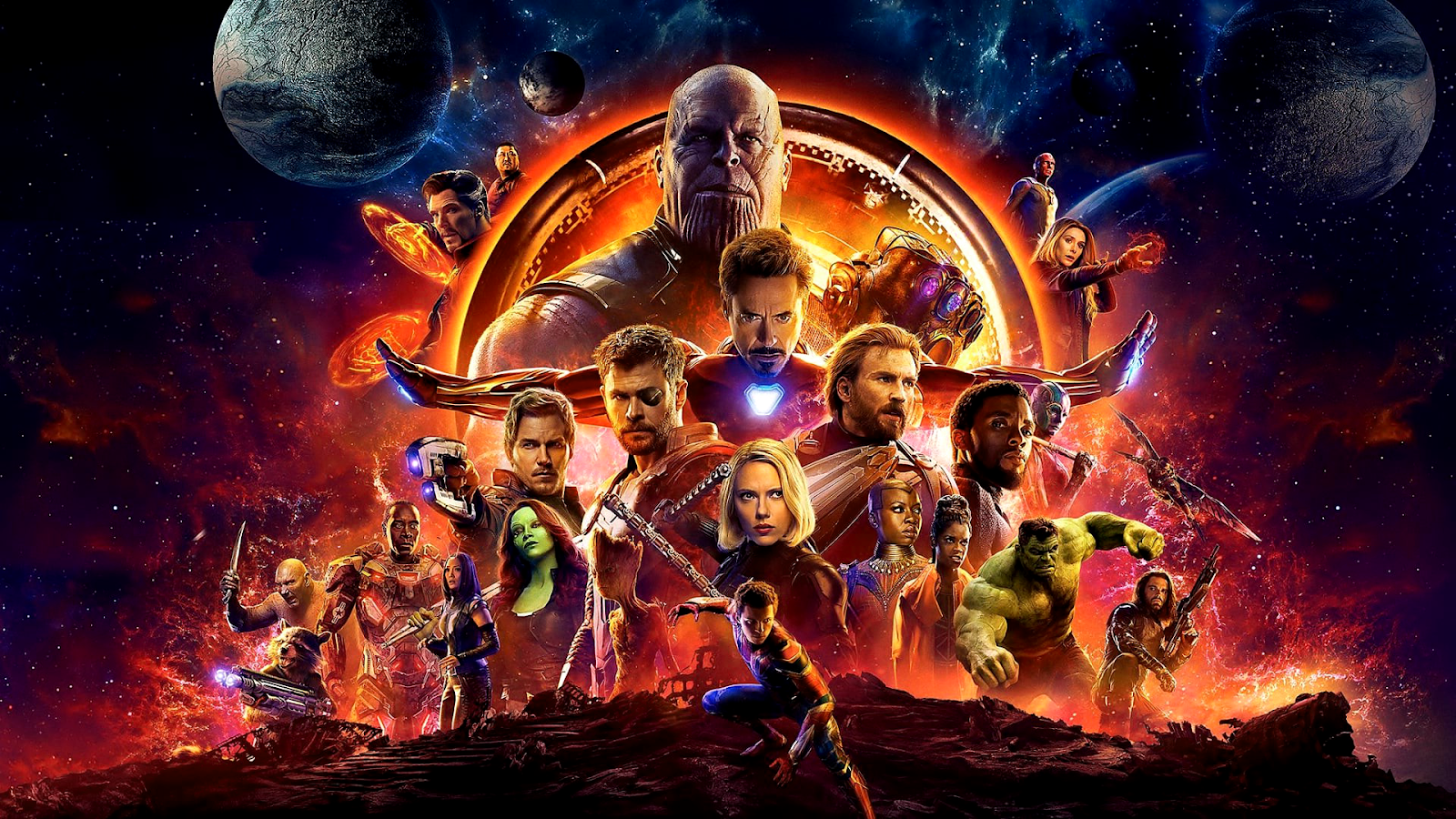 Avengers: Infinity War - 1920x1080 Wallpapers - Full HD Backgrounds