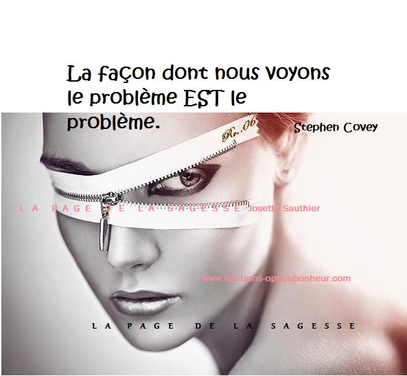 La Page De La Sagesse Citation Sur Les Problèmes De La Vie