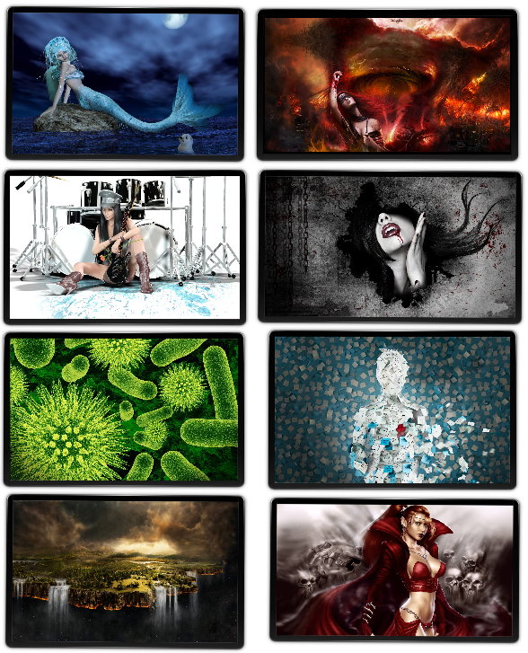 Wallpapers arte digital HD - Pack 9
