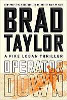 Operator Down by Brad Taylor (Book cover)