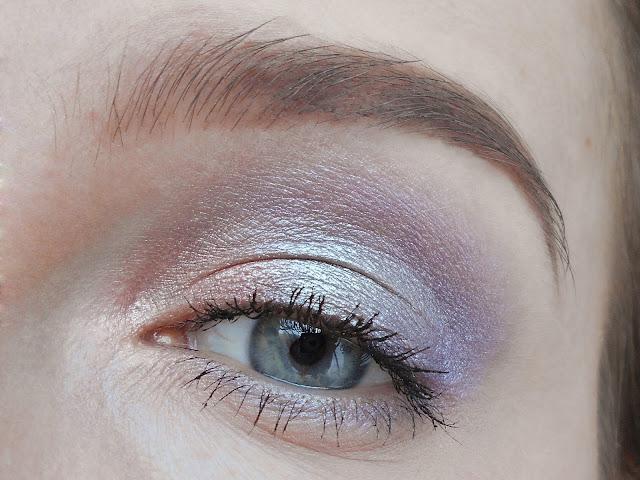 макияж в лиловых тонах