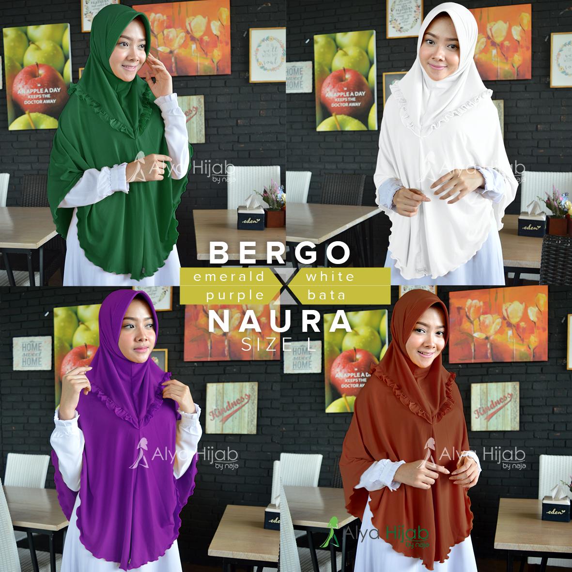 Jilbab Terbaru 2017 Bergo Naura Alya Hijab By Naja Jual Hijab