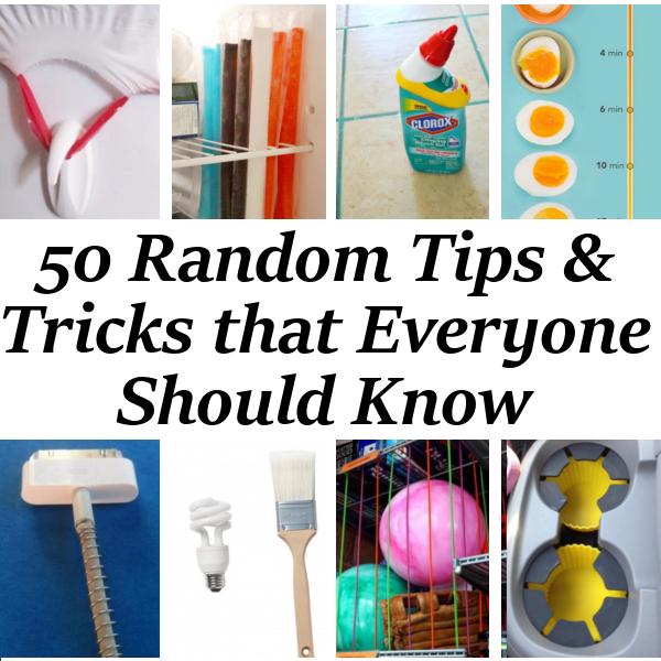 Diy home sweet home 50 random tips everyone should know for Random diys