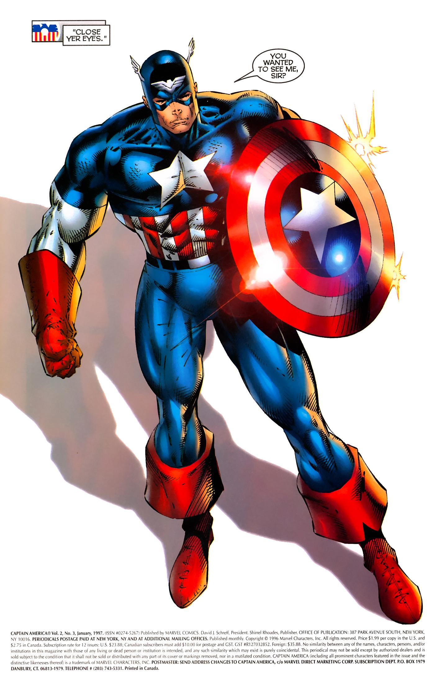 Captain America (1996) Issue #3 #3 - English 2