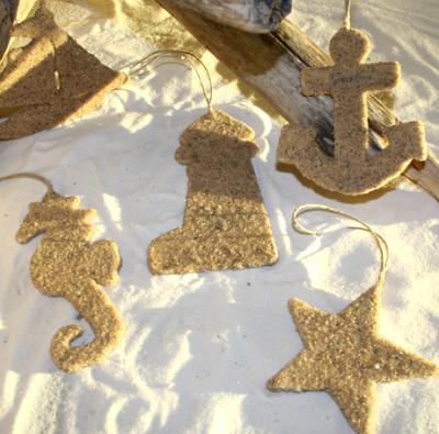 nautical sand ornaments