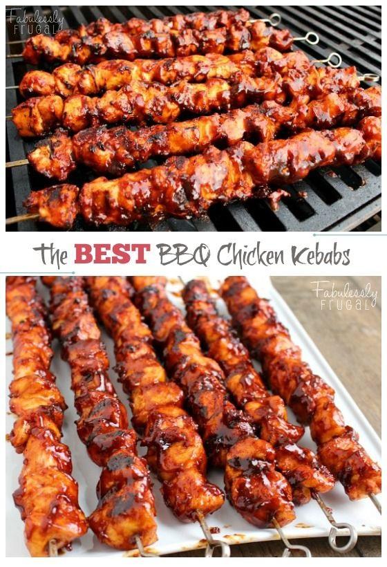 The Best Bbq Chicken Kebabs Recipe
