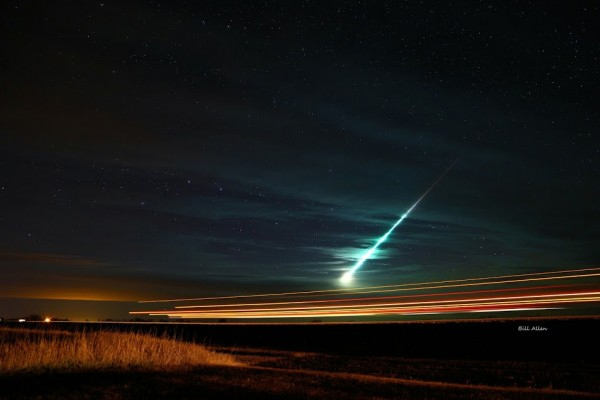 Meteoro da chuva Tauridas 2015 - Bill Allen