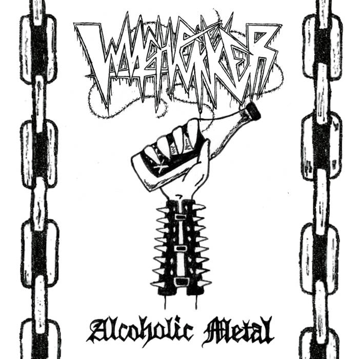 Heavy Metal Fire Witchfukker Alcoholic Metal 2019