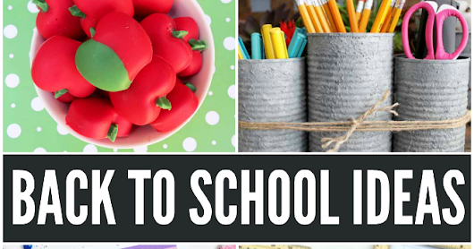 Back to School Ideas & Weekly Link Party