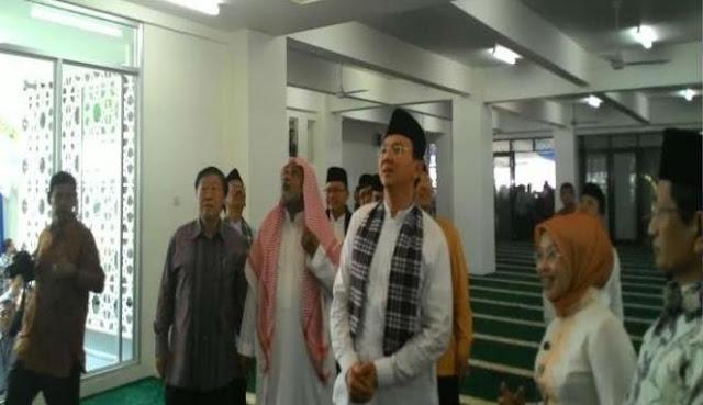 'Dulu Ahok selalu beli Tanah untuk RPTRA dekat Masjid agar Anak Bermain tidak lupa Mengaji'