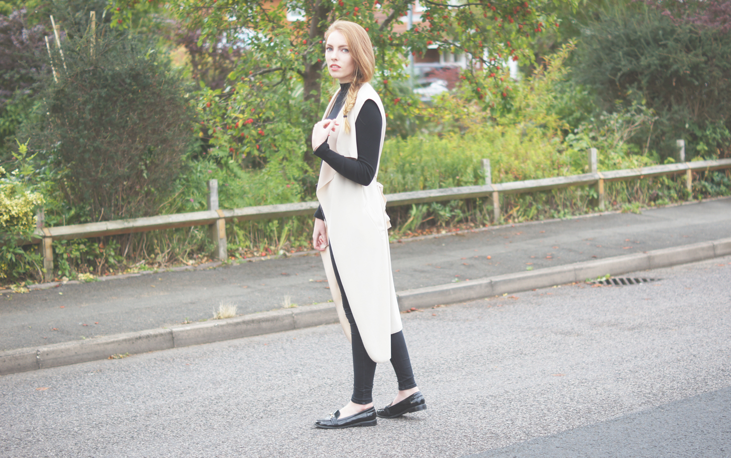sleeveless coat missguided