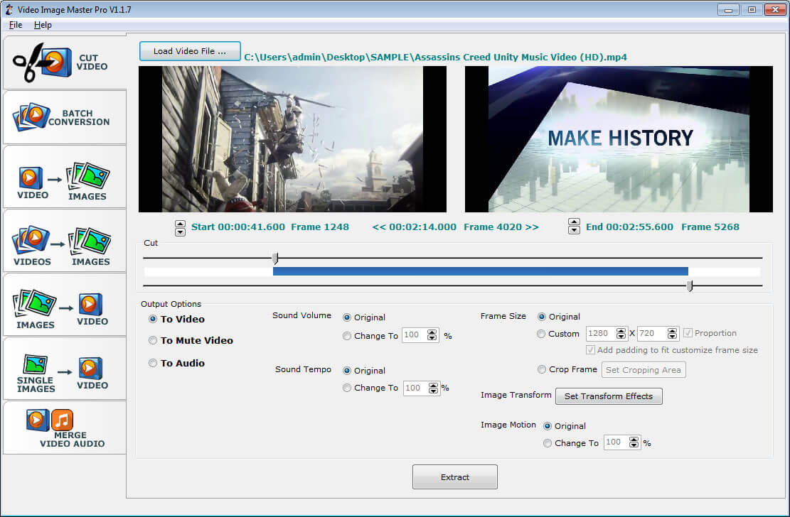 Video Image Master Pro v1.2.8 Full version free download