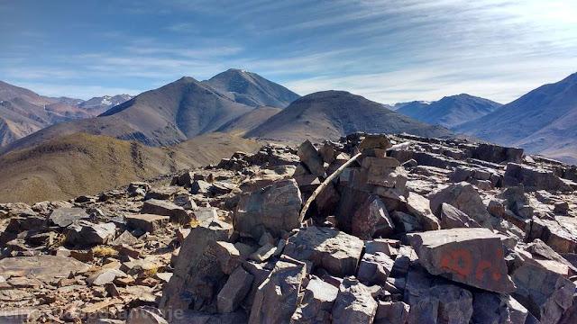 cumbre, cerro Bronce