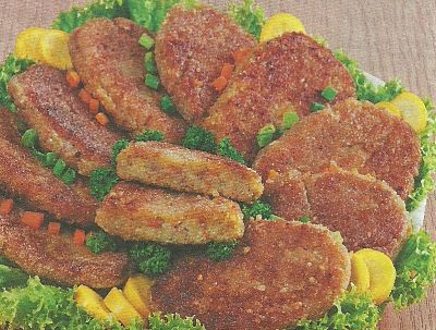 Рецепт приготовления овощных котлет