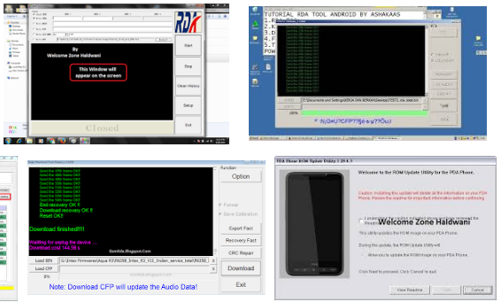 Rda Cpu Flash Tool (Flasher) Latest Setup Free download