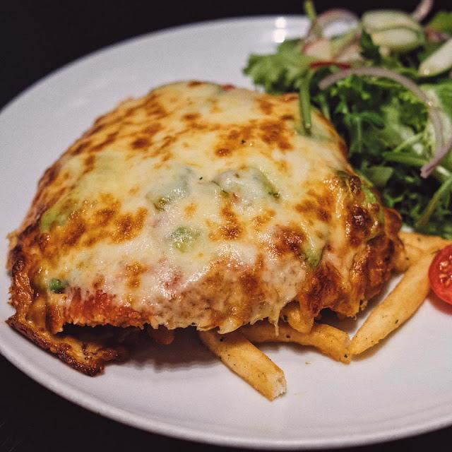 BBQ Chicken Parma