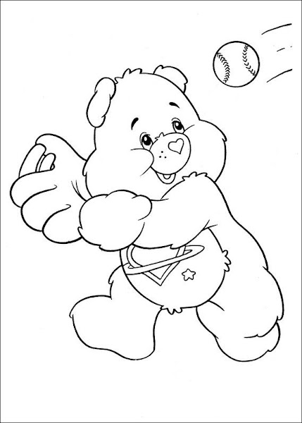 baby care bears coloring pages - photo #40