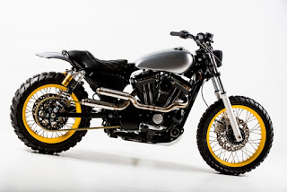 sportster tracker rock solid motorcycles side right