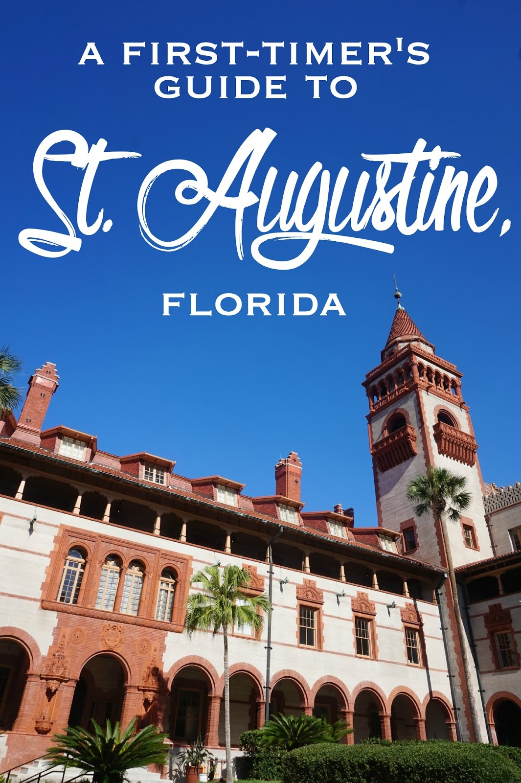St Augustine Travel Guide Book