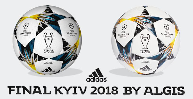 PES6 Champions League 2018 Kyiv Ball [ Final Ball ] By ALGIS