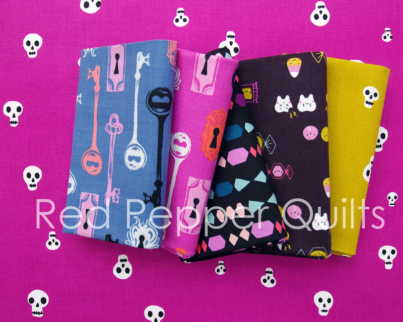 Boo! A collaborative collection by Cotton + Steel |  Red Pepper Quilts 2016