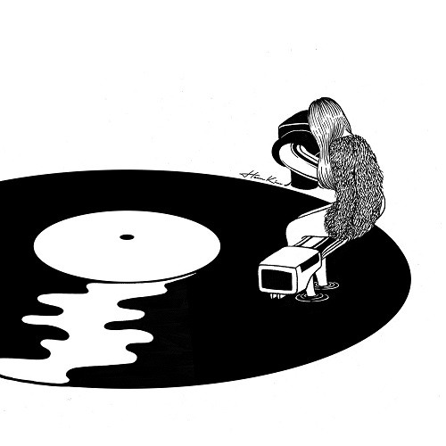 """Don't just listen feel it"" by Henn Kim 