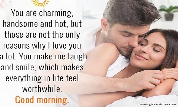 Loving 40 Good Morning Message For Dear Husband
