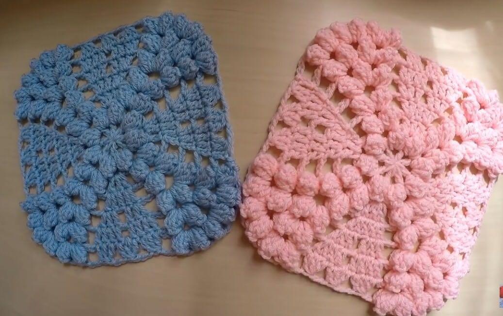 Vintage wedding ring motif crochet free pattern