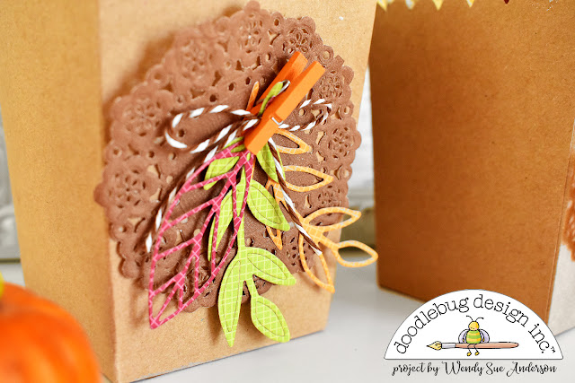 Thanksgiving banner decor and party favors by @WendySue with products from Doodlebug Design!