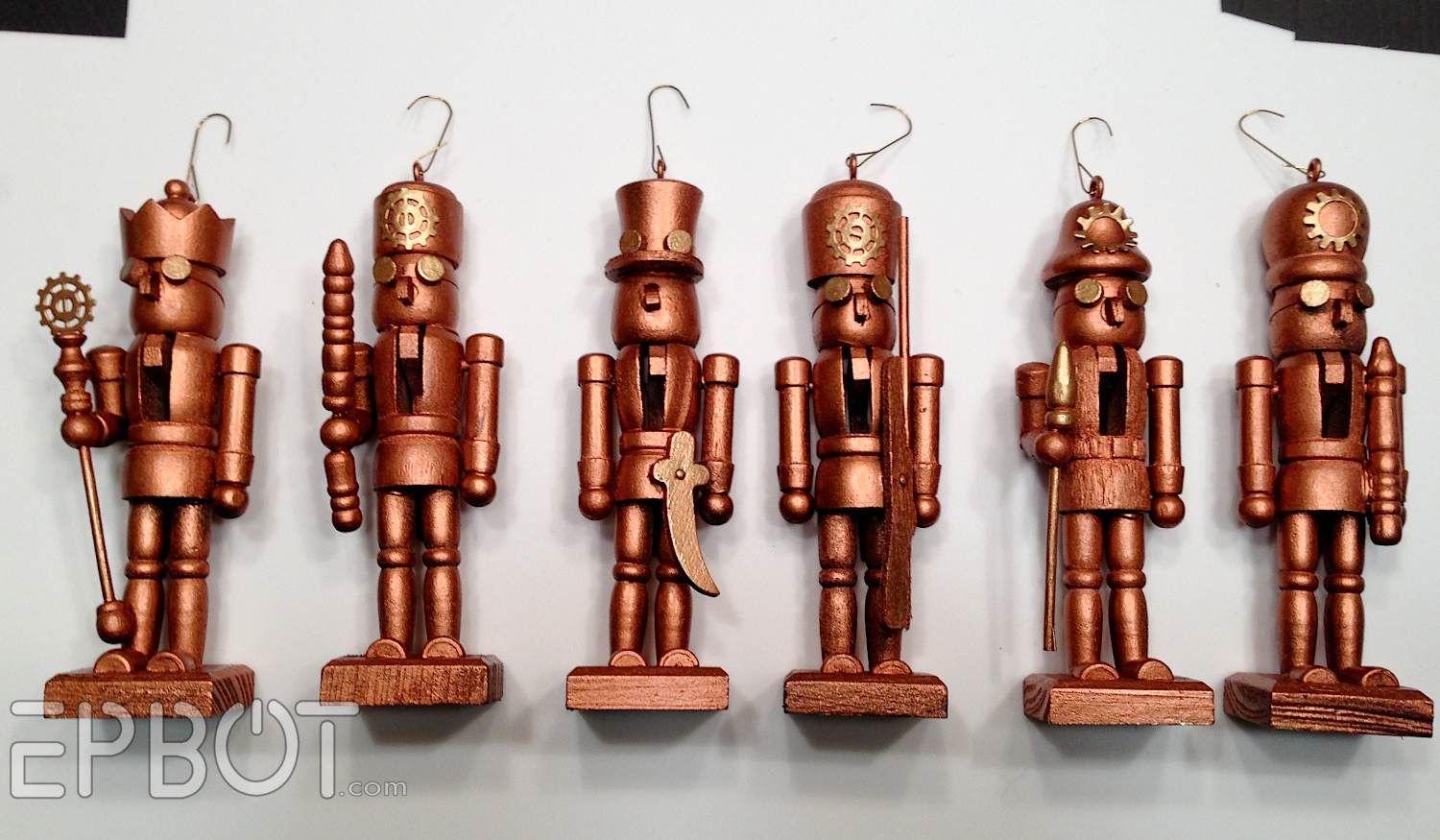 Nutcracker Christmas Tree Ornaments