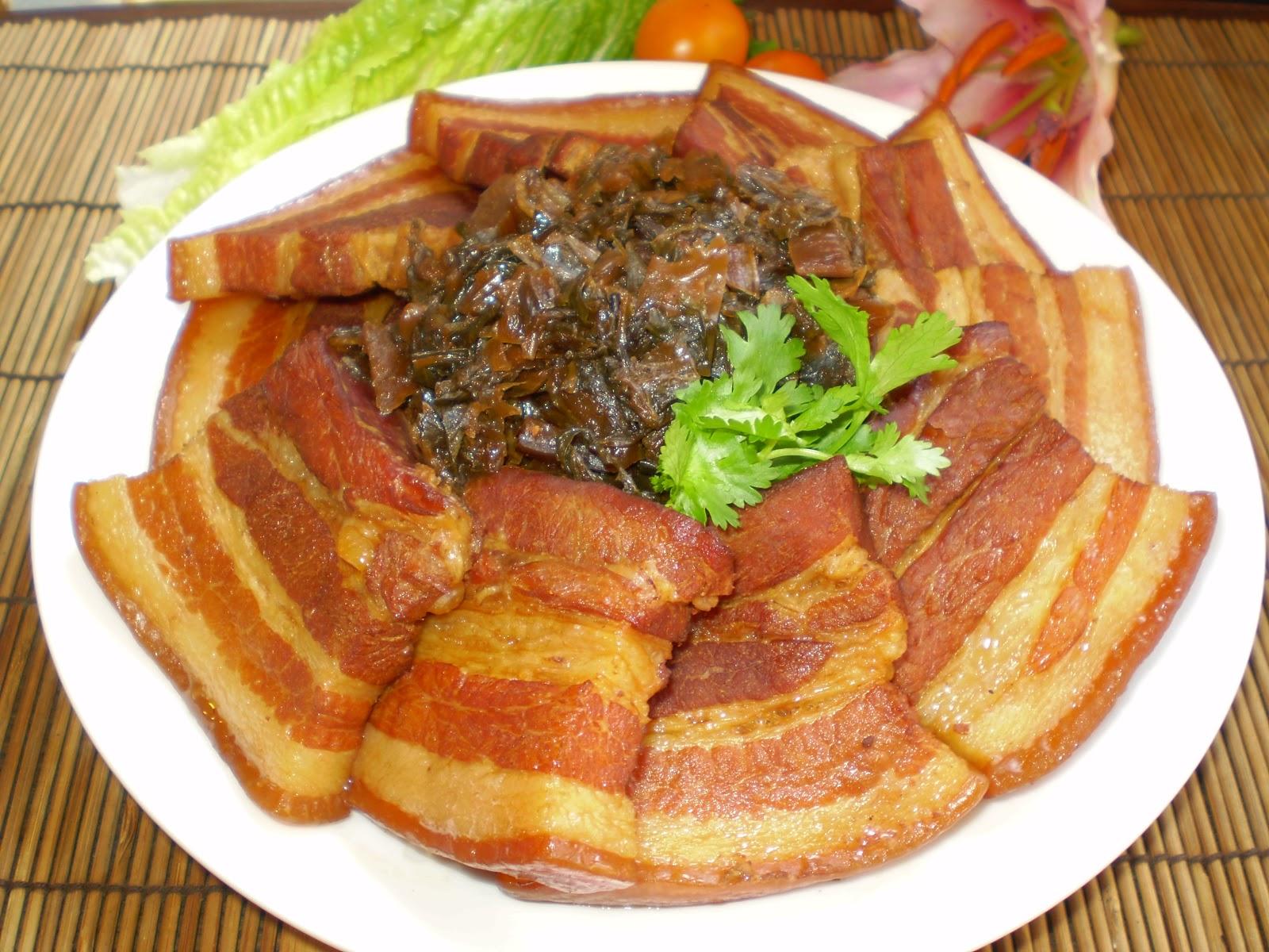 亞米家廚房‥客家鹹豬肉