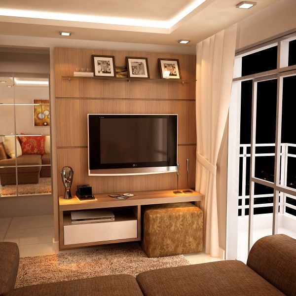 Sala De Tv Com Sofa Amarelo ~  de decoração salas pequenas com amarelo do apê da leitora