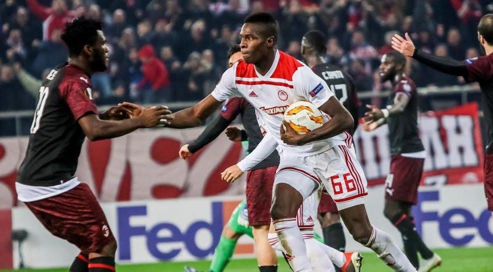 Milan eliminato dalla Europa League: 3-1 contro l'Olympiacos Pireo ad Atene.