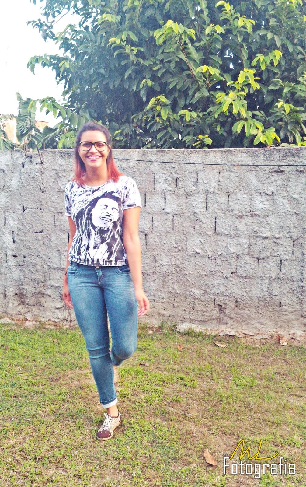 LOOK DO DIA | Jeans & Bob Marley