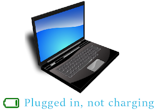 Battery plug in, not charging
