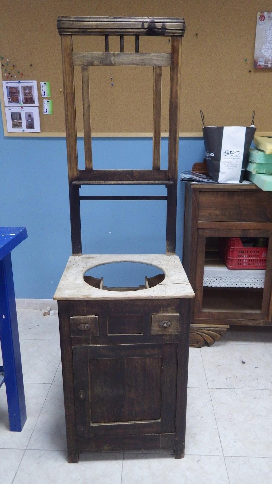 Manualidades gibert muebles antes y despues de restaurar for Manualidades de muebles