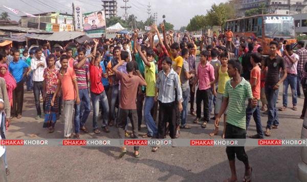 গাজীপুরে গ্রামবাসীর সঙ্গে সংঘর্ষে ছয় পুলিশ সদস্য আহত