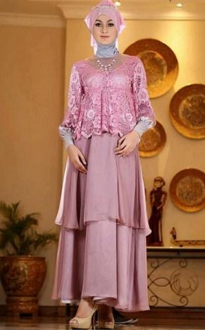 contoh Model Kebaya Batik muslim